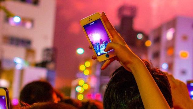 Silvester wird zur Zerreißprobe fürs Mobilfunknetz (Bild: flickr.com/Yoshikazu TAKADA)