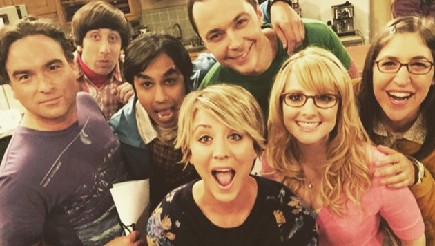 "Der Cast von ""The Big Bang Theory"" (Bild: Viennareport)"
