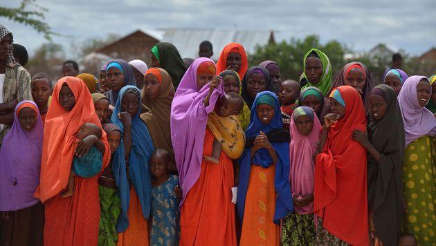Flüchtlinge in Somalia (Bild: TONY KARUMBA/AFP/picturedesk.com)