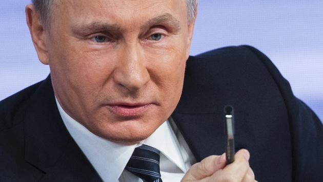 Russlands Präsident Wladimir Putin (Bild: AP)
