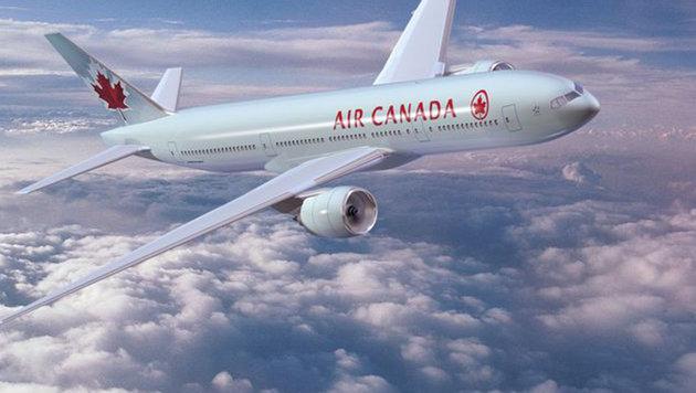 Herzstillstand: Zehnjährige stirbt während Flug (Bild: Air Canada (Symbolbild))
