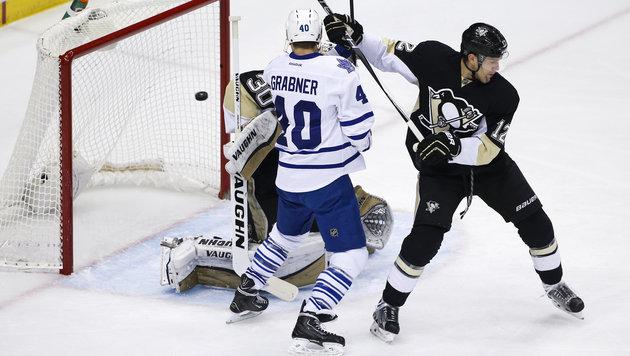 Grabner & Toronto mit Erfolg zum Jahresende (Bild: AP)
