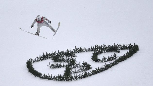 Prevc siegt, Hayböck als bester ÖSV-Adler Fünfter! (Bild: AFP or licensors)