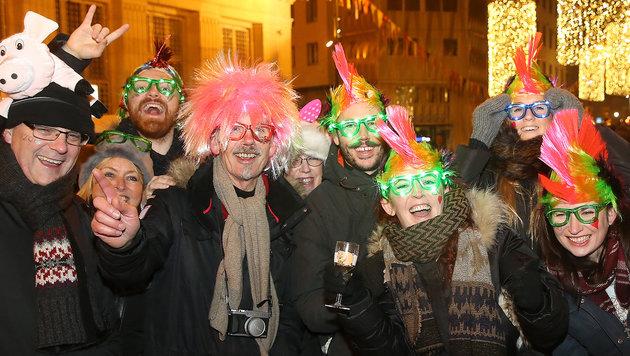 Wien: Silvesterpfad lockt mit 11 Freiluft-Hotspots (Bild: Peter Tomschi)
