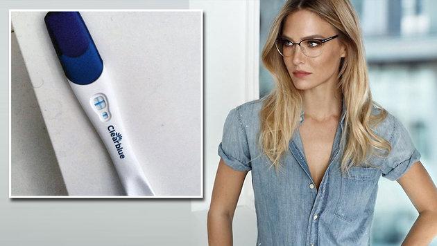 Bar Refaeli postet postiven Schwangerschafts-Test (Bild: instagram.com, Viennareport)