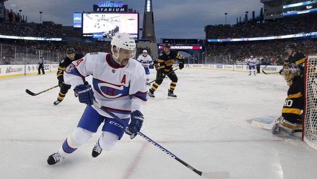 NHL-Winter-Classic vor 68.000 Fans an Canadiens (Bild: AP)