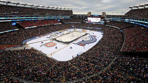 NHL-Winter-Classic vor 68.000 Fans an Canadiens (Bild: 2016 Getty Images)