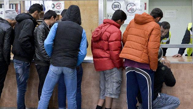 50 Prozent der Fl�chtlinge bleiben arbeitslos (Bild: APA/HERBERT NEUBAUER)