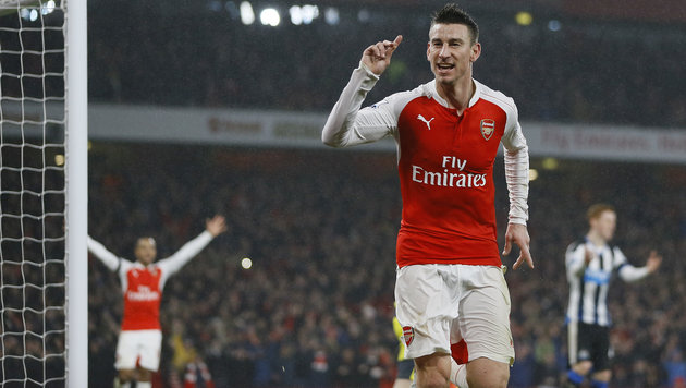 Arsenal baut Tabellenführung aus - ManU gewinnt (Bild: AP)