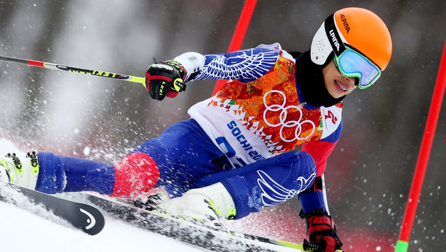 Star-Geigerin Vanessa Mae attackiert Skiverband (Bild: GEPA)