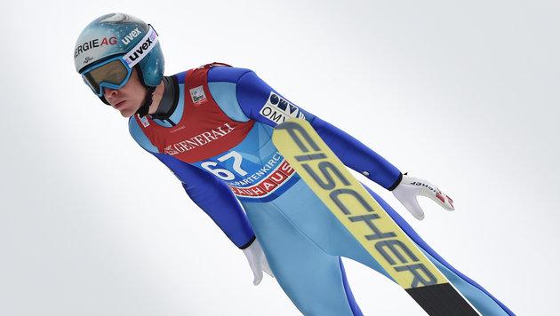 Stark! Michael Hayböck gewinnt Quali in Innsbruck (Bild: AFP)