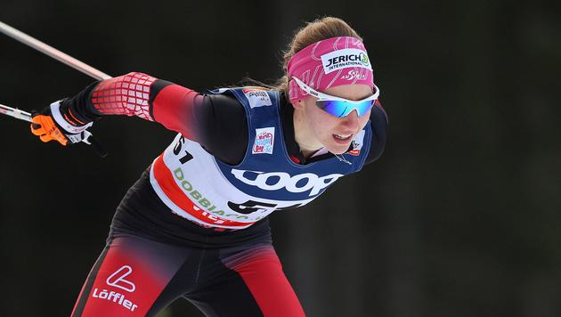 Teresa Stadlober starke Achte bei Tour de Ski (Bild: GEPA)