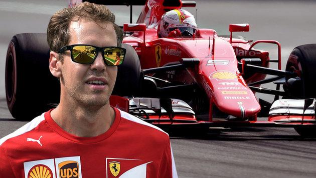 "Vettel plant Angriff: ""Mercedes ist schlagbar"" (Bild: AFP)"