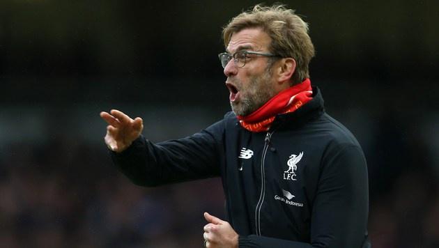 Klopp verlängert bei Liverpool bis 2022 (Bild: APA/AFP/JUSTIN TALLIS)
