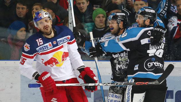 Linz gewann großen Eishockey-Hit gegen Salzburg (Bild: GEPA pictures)