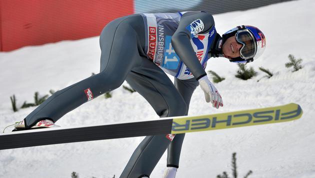 Gregor Schlierenzauer kam nicht einmal mehr ins Finale (Bild: APA/BARBARA GINDL)