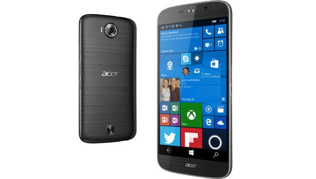 Acers neues Windows-Handy ist auch als PC nutzbar (Bild: Acer)