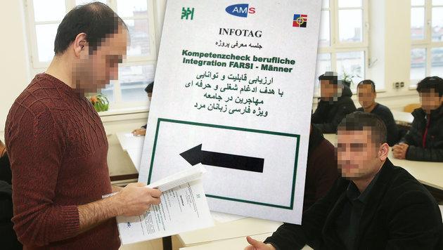 Drei von 170 Afghanen ausreichend qualifiziert (Bild: Peter Tomschi)