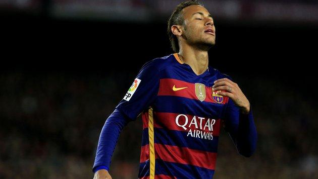 Rassismus-Skandal um Barcelona-Star Neymar? (Bild: APA/AFP/PAU BARRENA)