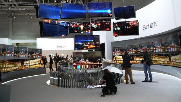 Samsung will TVs zum Smart-Home-Herzstück machen (Bild: Dominik Erlinger)