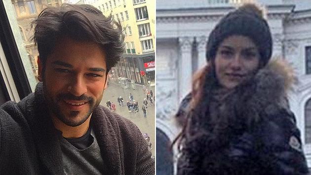 Türkisches TV-Paar löst Polizeieinsatz in Wien aus (Bild: Instagram)