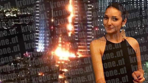 Anna G. verlor beim Hotelbrand in Dubai ihr Hab und Gut. (Bild: Anna G.)