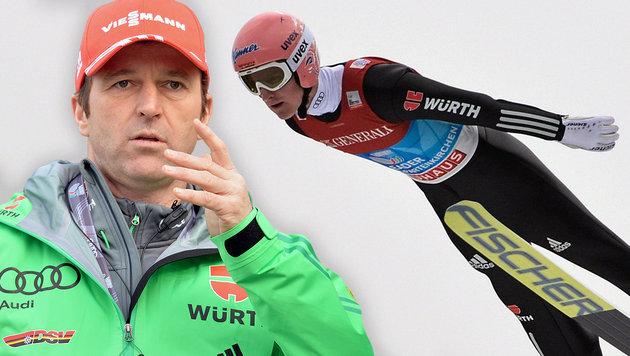 Werner Schuster kritisiert Innsbruck-Veranstalter (Bild: AFP, AP)