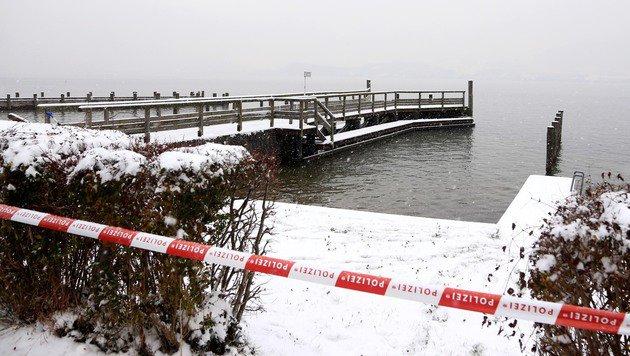 Kopf von Mordopfer in Beton eingegossen (Bild: Helmut Klein)