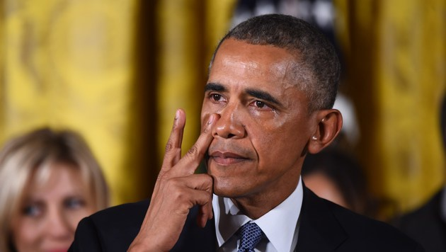 """""""Ständige Ausreden sind nicht mehr haltbar"""": Obama (Bild: AFP)"""