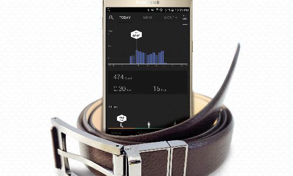 Samsungs smarter Gürtel protokolliert Hüftumfang (Bild: Samsung)