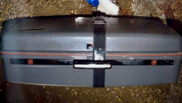 Kopf von Mordopfer in Beton eingegossen (Bild: APA/FOTOKERSCHI.AT/WERNER KERSCHBAUMMAYR)