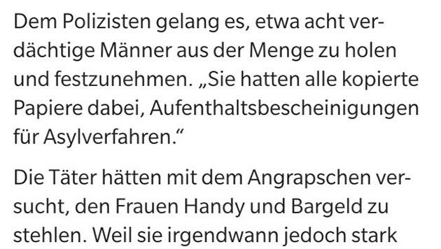 """Merkel: """"Harte Antwort des Rechtsstaats n�tig"""" (Bild: Screenshot express.de)"""