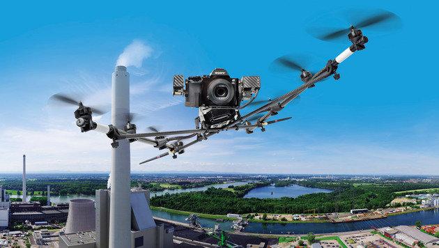 CES: Intel schluckt deutschen Drohnen-Spezialisten (Bild: AscTec)