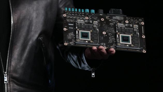Drive PX2: Nvidias Supercomputer für das Robo-Auto (Bild: Nvidia)