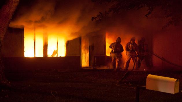 Familie verlor im Feuer ihr Hab und Gut (Bild: flickr.com/Ada Be (Symbolbild))