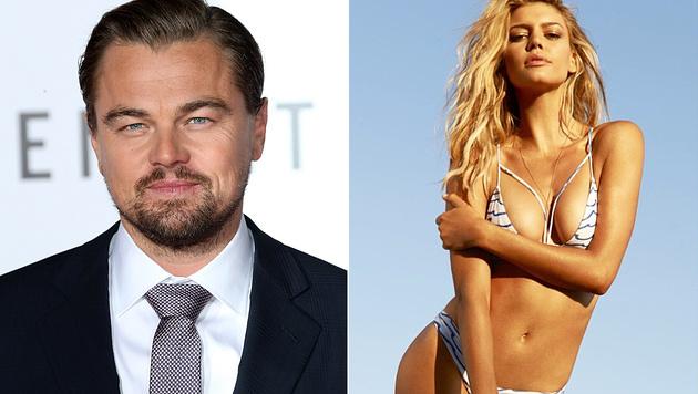 Leonardo DiCaprio und Kelly Rohrbach haben sich getrennt. (Bild: APA/AFP/GETTY IMAGES/Frederick M. Brown, instagram.com)