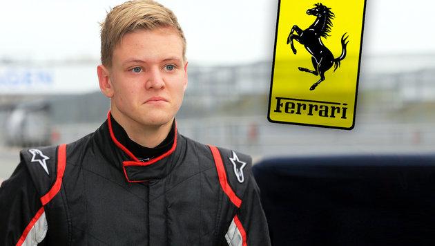 Schumacher-Sohn fährt in Zukunft für Ferrari-Team (Bild: dpa)