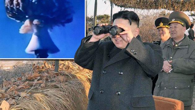 """Kims """"Atomwaffenstaat"""" soll 2017 vollendet sein (Bild: AFP)"""