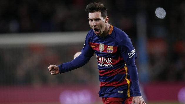 Barca zaubert sich zu 4:1-Triumph im Derby (Bild: AP)