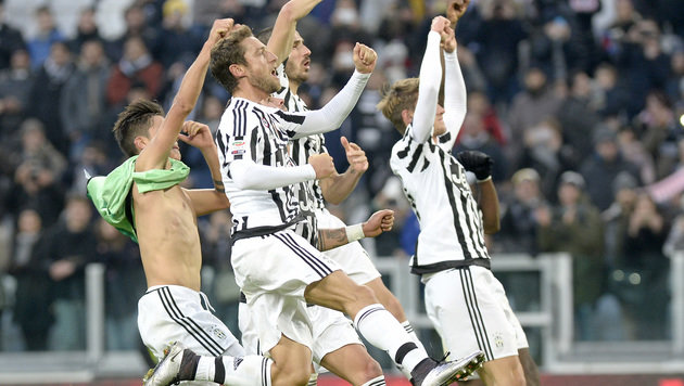 Juve setzt Aufholjagd fort - Roma enttäuscht (Bild: AP)