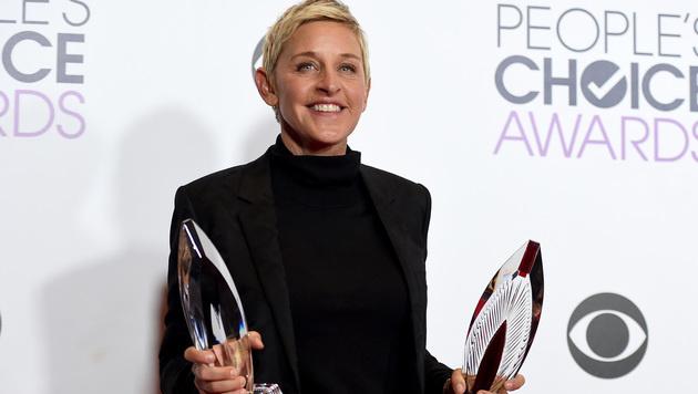 Auch Ellen DeGeneres wurde doppelt ausgezeichnet. (Bild: Jordan Strauss/Invision/AP)