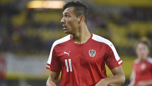 Karim Onisiwo kann ein Fall für die FIFA werden (Bild: GEPA)