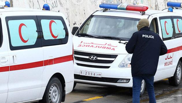 Libyen: Autobombe reißt 15 Menschen in den Tod (Bild: AFP (Symbolbild))