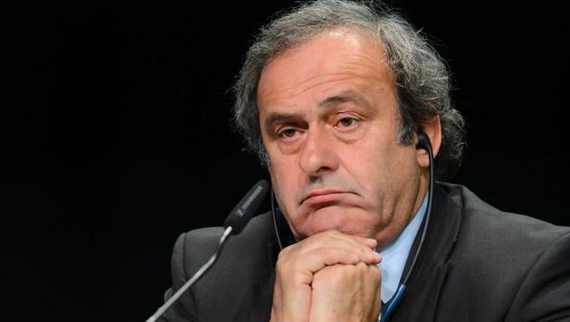 Platini zog Kandidatur als FIFA-Präsident zurück (Bild: AFP)