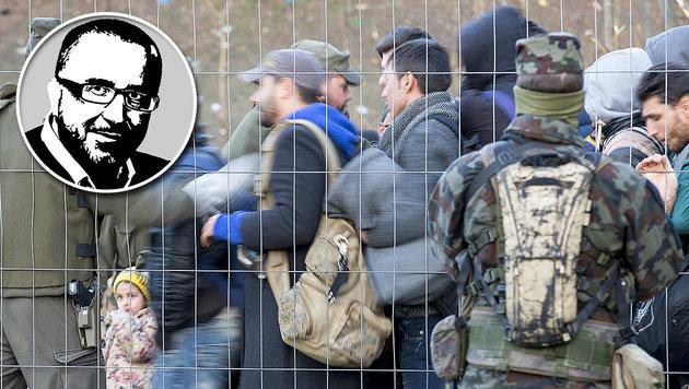 """""""Wer das Gastrecht missbraucht: Raus!"""" (Bild: APA/ERWIN SCHERIAU)"""