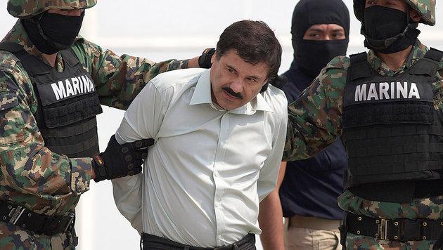 "Drogenboss ""El Chapo"" an die USA ausgeliefert (Bild: AP)"