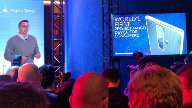 Lenovo-Smartphone mit Echtzeit-3D-Scanner (Bild: Lenovo)