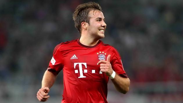 Mario Götze schließt Bayern-Abschied nicht aus (Bild: GEPA)