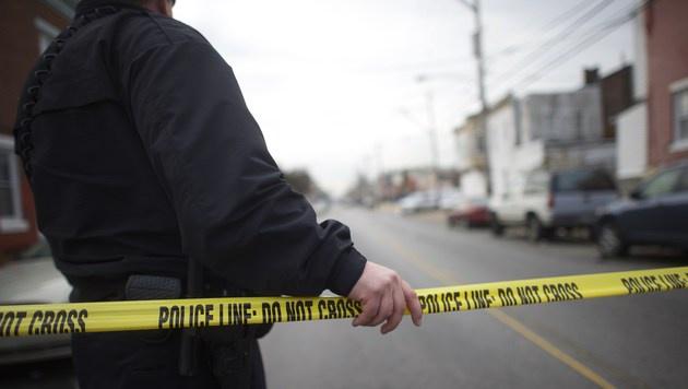 New York: Afroamerikaner schie�en auf Polizisten (Bild: APA/AFP/GETTY IMAGES/Mark Makela)