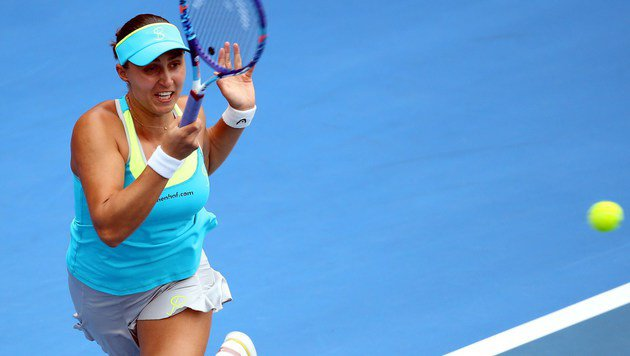 Tamira Paszek im Halbfinale ausgeschieden (Bild: APA/AFP/MICHAEL BRADLEY)